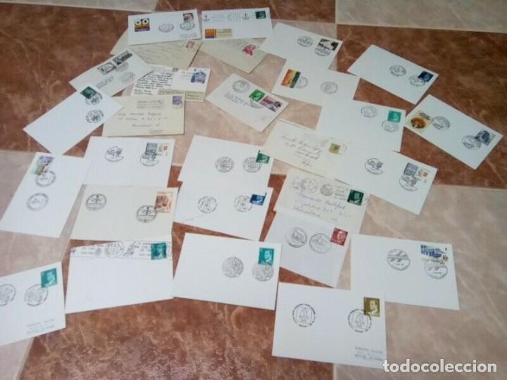 COLECCION 29 TARJETAS MATASELLOS ESPECIALES TODAS DIFERENTES (Sellos - Colecciones y Lotes de Conjunto)