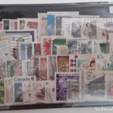 Francobolli: LOTE 50 SELLOS MUNDIALES DIFERENTES USADOS. Lote 262539645