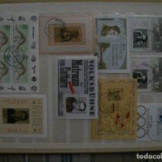 Selos: /16.05/-LIQUIDACION-ALEMANIA-100 BLOQUES EN NUEVO(**MNH) & USADO/º/. Lote 263125370