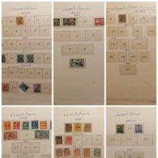 Selos: LEVANTE RESTO COLECCION DE LUJO LOTE SELLOS CLASICOS Y ANTIGUOS ALTISIMO VALOR CATALOGO ESCASO. Lote 264091370