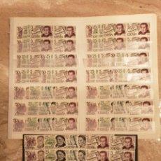Francobolli: 34 SERIES NUEVAS AÑO 1978 PERSONAJES BAJO FACIAL. Lote 266344653