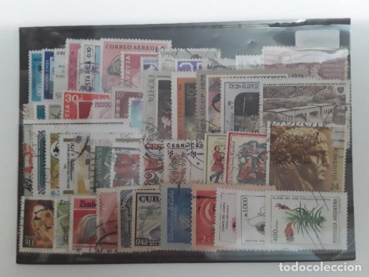 LOTE 50 SELLOS MUNDIALES DIFERENTES USADOS (Sellos - Colecciones y Lotes de Conjunto)