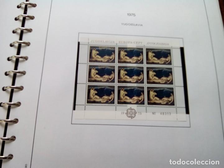 Sellos: ALBUM DE SELLOS TEMA EUROPA 1975/79 MUY COMPLETO , VER DESCRIPCION - Foto 2 - 269091738