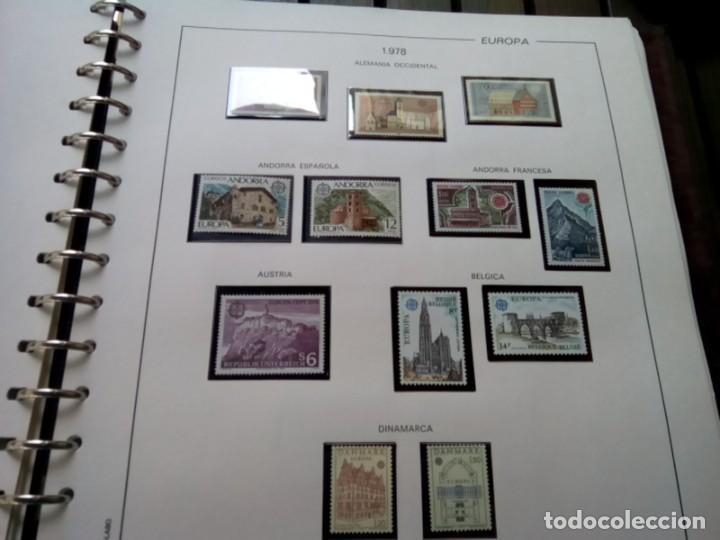 Sellos: ALBUM DE SELLOS TEMA EUROPA 1975/79 MUY COMPLETO , VER DESCRIPCION - Foto 8 - 269091738