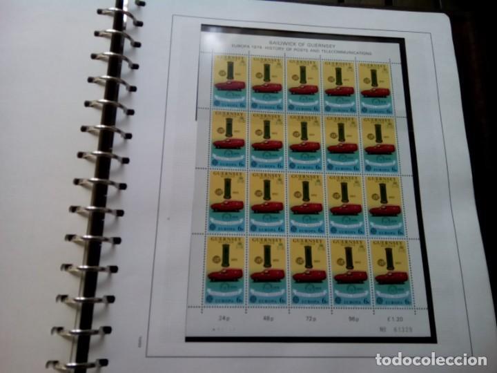 Sellos: ALBUM DE SELLOS TEMA EUROPA 1975/79 MUY COMPLETO , VER DESCRIPCION - Foto 11 - 269091738