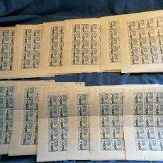 Selos: ESPAÑA COLON MONUMENTO BARCELONA LOTE 300 SELLOS TURISMO 12 HOJAS 25 SELLOS LOTE SELLOS NUEVOS ***. Lote 269820478