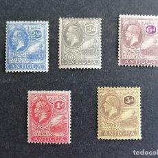 Sellos: ANTIGUA ISLA JORGE V SELLOS CLASICOS YVERT 42,44/6 AÑO 1921 COLECCION EN NUEVO */ CHANELA. Lote 270877648