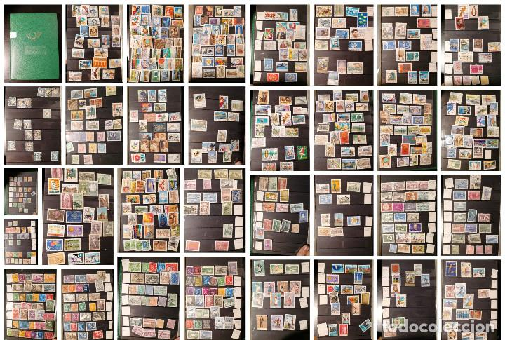 FINLADIA LOTE SELLOS RESTO COLECCION GRAN COLECCION MUY COMPLETA CLASIFICADOR USADO (Sellos - Colecciones y Lotes de Conjunto)