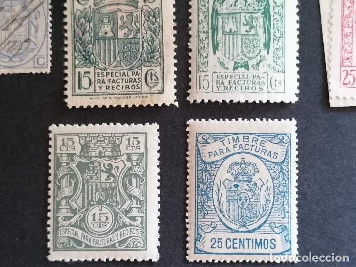Sellos: España lote sellos recibos y Facturas - Foto 7 - 273662468