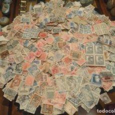 Francobolli: LOTE DE MAS DE 2000 SELLOS USADOS PRIMER CENTENARIO. Lote 274804358