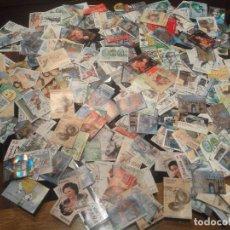 Francobolli: LOTE DE MAS DE 300 SELLOS USADOS EN EUROS. Lote 274819688
