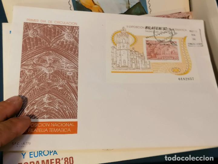 Sellos: España lote sellos caja con documentos filatelicos,spd,sobres exposiciones minimo 200 aprox - Foto 5 - 275496388