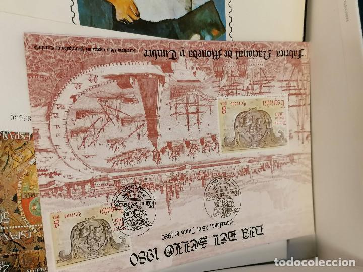 Sellos: España lote sellos caja con documentos filatelicos,spd,sobres exposiciones minimo 200 aprox - Foto 8 - 275496388