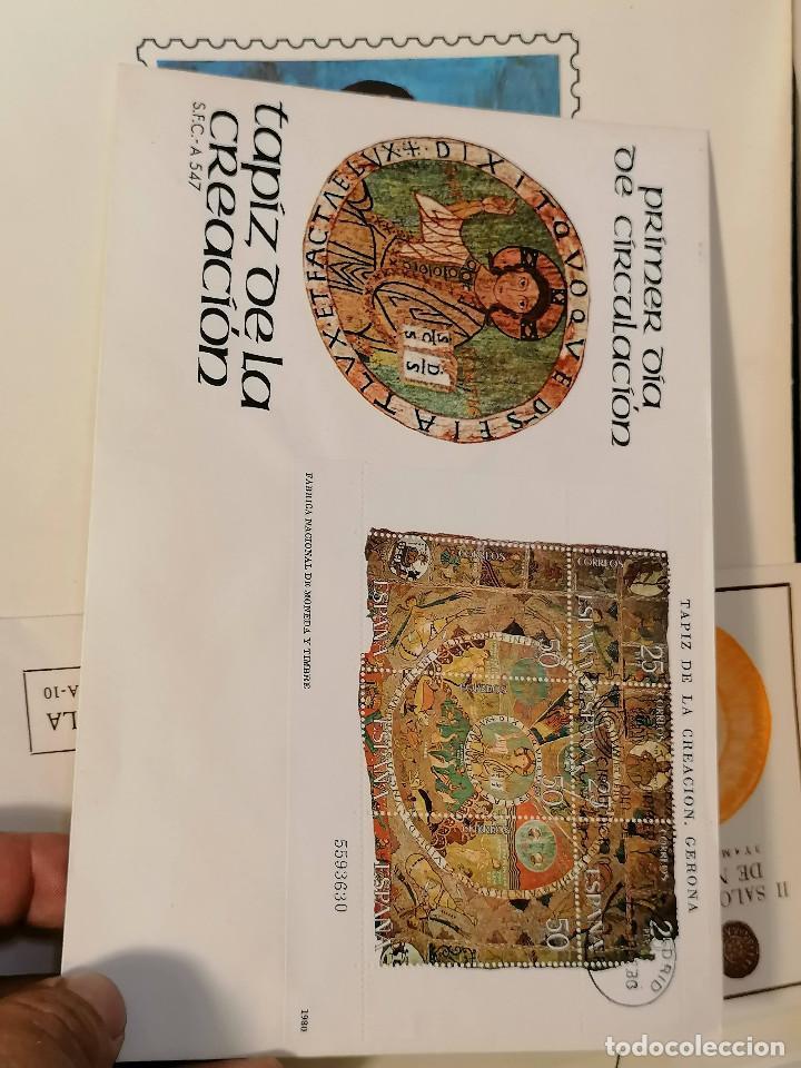 Sellos: España lote sellos caja con documentos filatelicos,spd,sobres exposiciones minimo 200 aprox - Foto 9 - 275496388