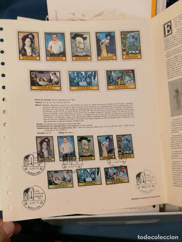 Sellos: España lote sellos caja con documentos filatelicos,spd,sobres exposiciones minimo 200 aprox - Foto 11 - 275496388