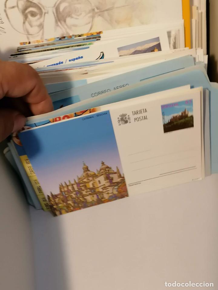 Sellos: España lote sellos caja con documentos filatelicos,spd,sobres exposiciones minimo 200 aprox - Foto 17 - 275496388