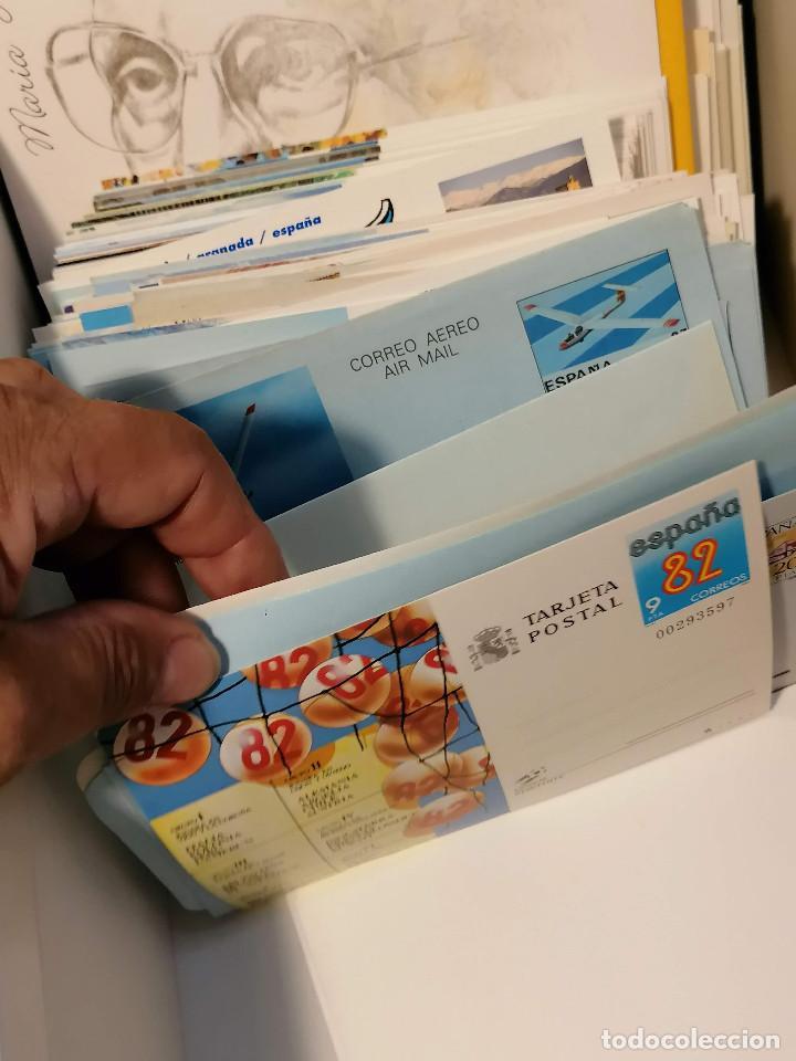 Sellos: España lote sellos caja con documentos filatelicos,spd,sobres exposiciones minimo 200 aprox - Foto 18 - 275496388