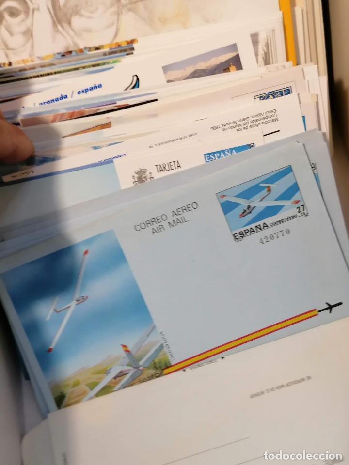 Sellos: España lote sellos caja con documentos filatelicos,spd,sobres exposiciones minimo 200 aprox - Foto 20 - 275496388