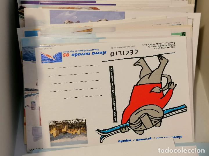 Sellos: España lote sellos caja con documentos filatelicos,spd,sobres exposiciones minimo 200 aprox - Foto 23 - 275496388