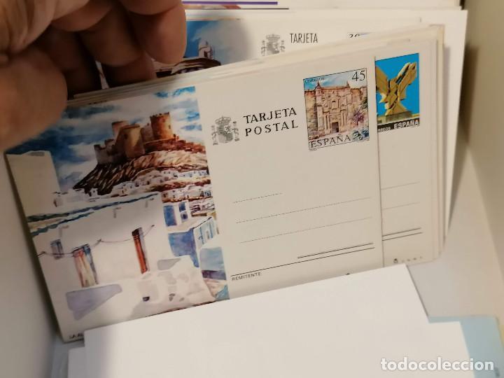 Sellos: España lote sellos caja con documentos filatelicos,spd,sobres exposiciones minimo 200 aprox - Foto 24 - 275496388