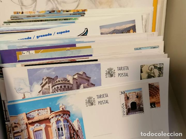 Sellos: España lote sellos caja con documentos filatelicos,spd,sobres exposiciones minimo 200 aprox - Foto 28 - 275496388