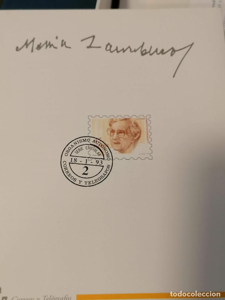 Sellos: España lote sellos caja con documentos filatelicos,spd,sobres exposiciones minimo 200 aprox - Foto 35 - 275496388