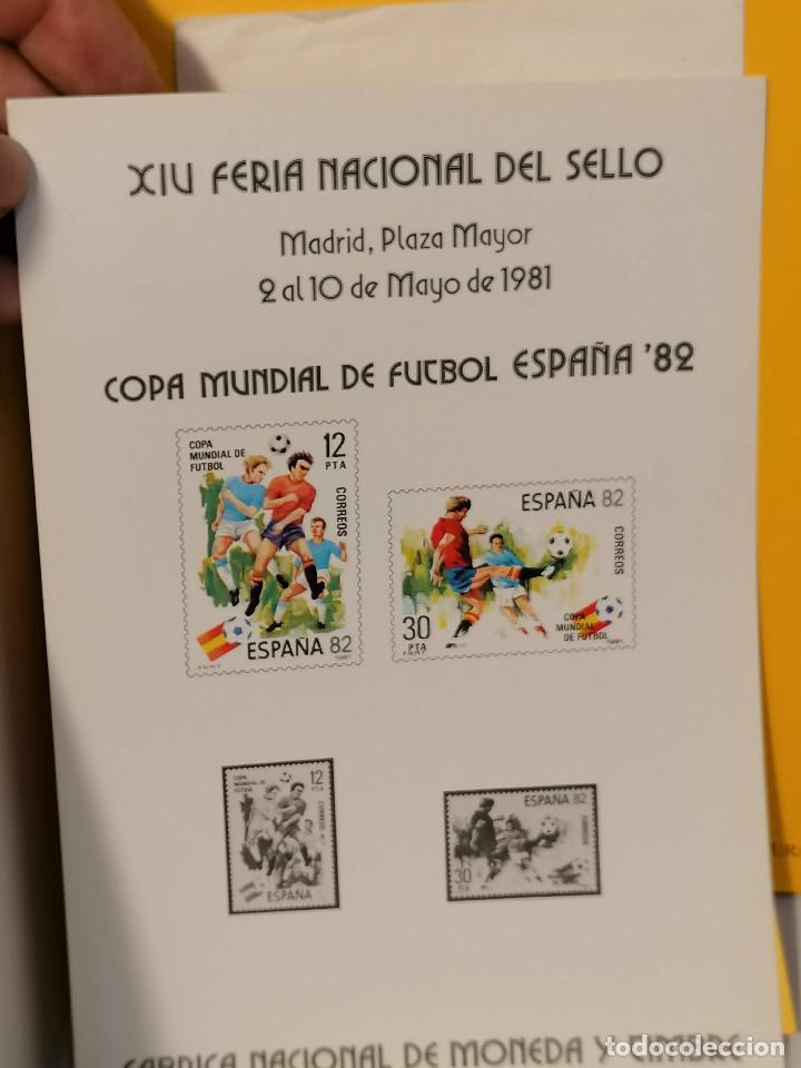Sellos: España lote sellos caja con documentos filatelicos,spd,sobres exposiciones minimo 200 aprox - Foto 37 - 275496388