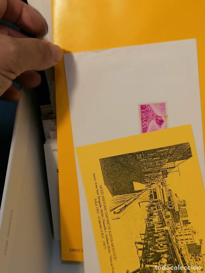 Sellos: España lote sellos caja con documentos filatelicos,spd,sobres exposiciones minimo 200 aprox - Foto 38 - 275496388