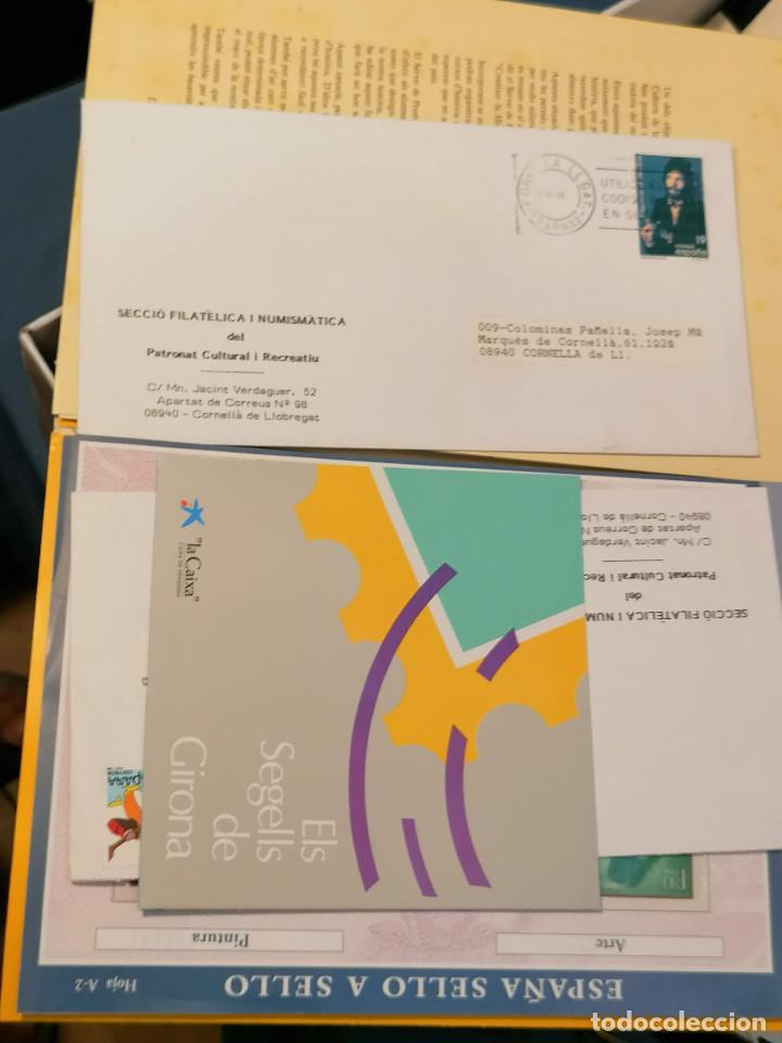 Sellos: España lote sellos caja con documentos filatelicos,spd,sobres exposiciones minimo 200 aprox - Foto 41 - 275496388