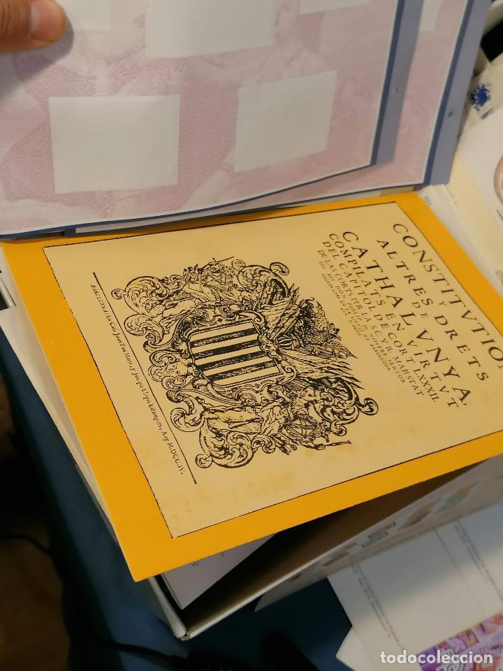 Sellos: España lote sellos caja con documentos filatelicos,spd,sobres exposiciones minimo 200 aprox - Foto 44 - 275496388