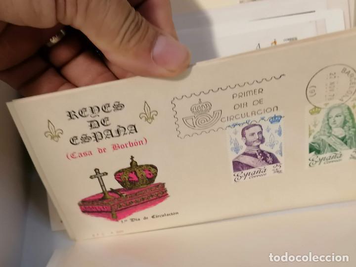Sellos: España lote sellos caja con documentos filatelicos,spd,sobres exposiciones minimo 200 aprox - Foto 49 - 275496388