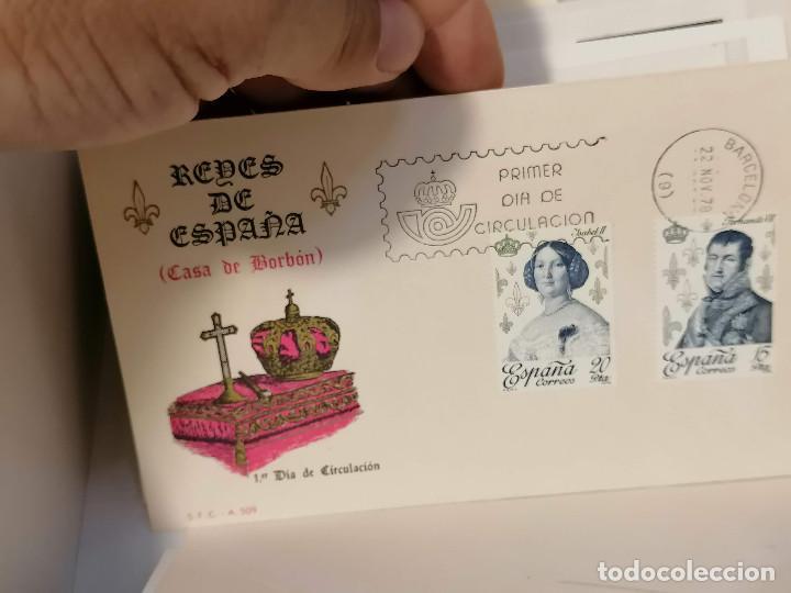 Sellos: España lote sellos caja con documentos filatelicos,spd,sobres exposiciones minimo 200 aprox - Foto 50 - 275496388