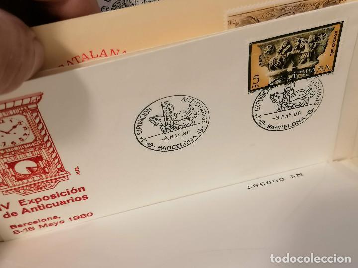 Sellos: España lote sellos caja con documentos filatelicos,spd,sobres exposiciones minimo 200 aprox - Foto 54 - 275496388