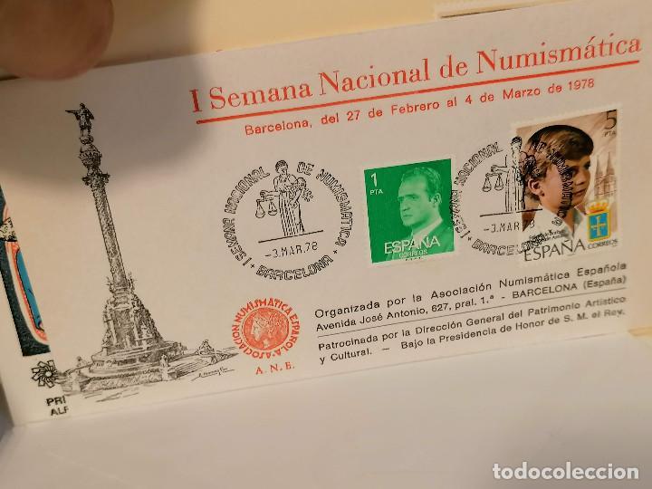 Sellos: España lote sellos caja con documentos filatelicos,spd,sobres exposiciones minimo 200 aprox - Foto 55 - 275496388