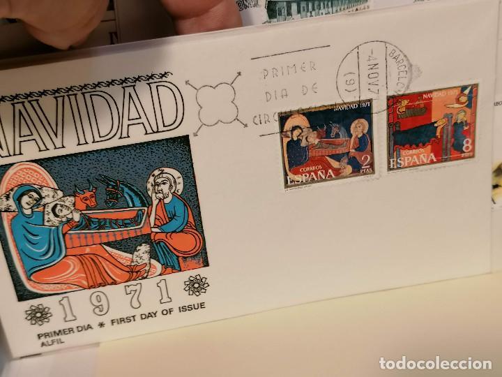 Sellos: España lote sellos caja con documentos filatelicos,spd,sobres exposiciones minimo 200 aprox - Foto 57 - 275496388