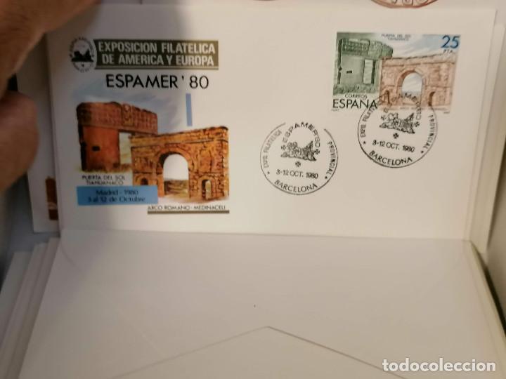 Sellos: España lote sellos caja con documentos filatelicos,spd,sobres exposiciones minimo 200 aprox - Foto 60 - 275496388