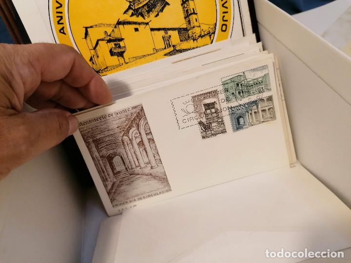 Sellos: España lote sellos caja con documentos filatelicos,spd,sobres exposiciones minimo 200 aprox - Foto 78 - 275496388