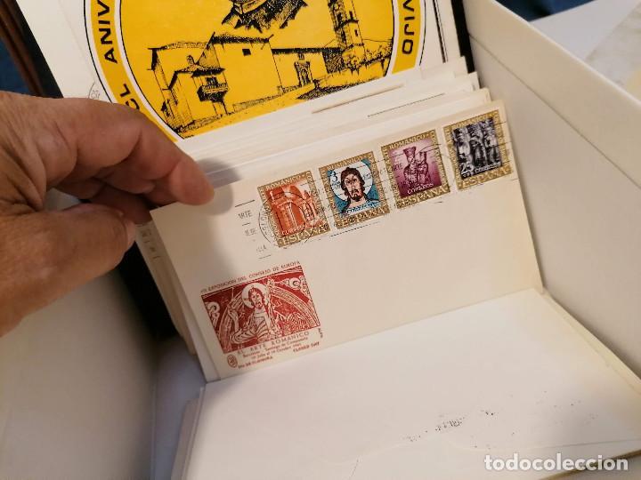 Sellos: España lote sellos caja con documentos filatelicos,spd,sobres exposiciones minimo 200 aprox - Foto 79 - 275496388