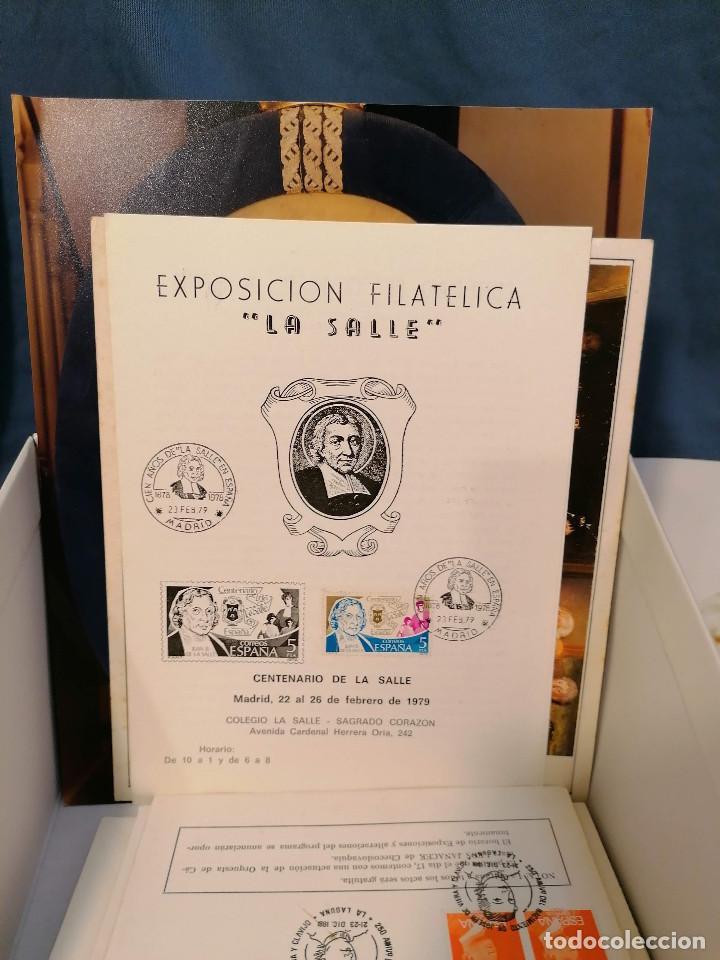 Sellos: España lote sellos caja con documentos filatelicos,spd,sobres exposiciones minimo 200 aprox - Foto 89 - 275496388
