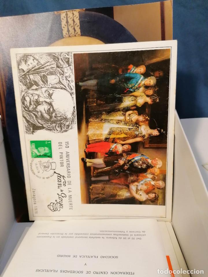 Sellos: España lote sellos caja con documentos filatelicos,spd,sobres exposiciones minimo 200 aprox - Foto 90 - 275496388