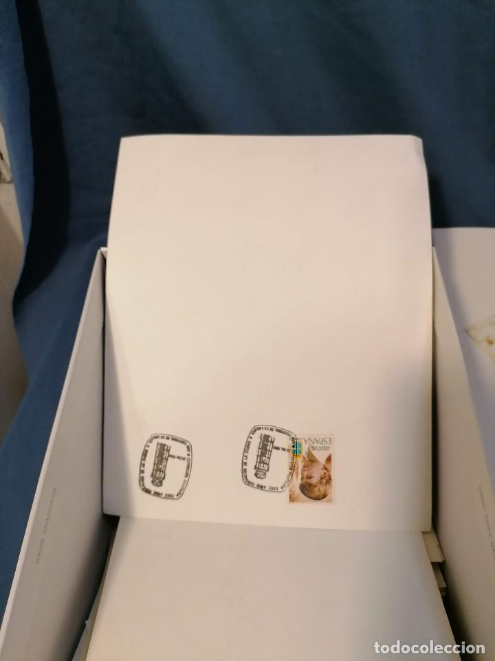 Sellos: España lote sellos caja con documentos filatelicos,spd,sobres exposiciones minimo 200 aprox - Foto 92 - 275496388