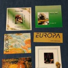 Francobolli: EUROPA CEPT LOTE SELLOS 6 CARNETS AÑOS 2000S NUEVOS ***/*. Lote 275612923