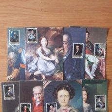 Selos: ESPAÑA GRAN COLECCION DE TARJETAS MAXIMAS SE ADJUNTAN FOTOGRAFIAS DE TODAS --MANCHAS DEL TIEMPO--. Lote 275758358