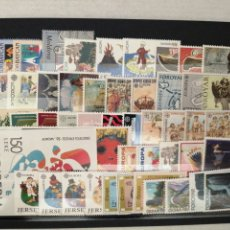 Selos: 50 SELLOS DIFERENTES DEL TEMA EUROPA NUEVOS TE2. Lote 276063538