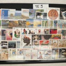 Selos: 50 SELLOS DIFERENTES DEL TEMA EUROPA NUEVOS TE3. Lote 276064053