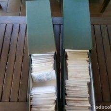 Sellos: 2 FICHEROS CON MAS DE 670 SOBRECITOS DE SELLOS NUEVOS SERIES COMPLETAS EN BLOQUE DE 4. Lote 278215243