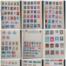 Selos: RUMANIA LOTE SELLOS ALBUM RESTO COLECCION MUY BUENA COLECCION 52 FOTOS. Lote 283639083
