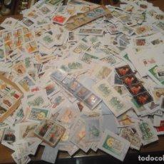 Sellos: MAS DE 700 GRAMOS DE SELLOS DE EUROS PARA LAVAR. Lote 284152408