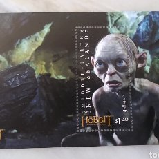 Timbres: HOBBIT LOTE 6 HOJAS BLOQUE. Lote 287723733