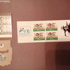 Francobolli: LOTE DE 2 CARNETS PROMOCIÓN DE LA FILATELIA. Lote 288217388